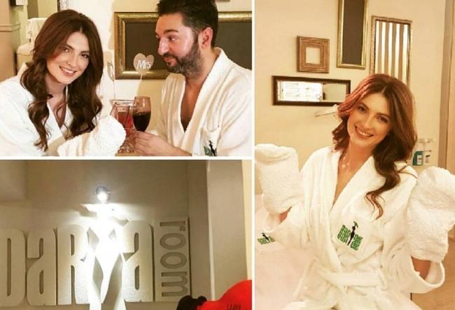 Adrian Ursu si Irina Negara, surprinsi in momente fierbinti la Daria Room - VIDEO