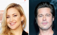 Brad Pitt si Kate Hudson formeaza un cuplu. Mama actritei a confirmat informatia