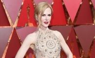 Pe cat de frumoasa, pe atat de periculoasa! Rochia purtata de Nicole Kidman a taiat-o pe actrita - FOTO