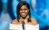 Momentul pe care presa l-a asteptat 8 ani! Michelle Obama, fotografiata pentru prima data cu parul ei natural - FOTO