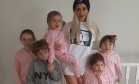 A nascut 5 copii in 6 ani si arata asa! Cum reuseste sa se mentina in forma - FOTO