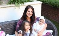 Lenuta Burghila, alaturi de nepotelele sale, la Los Angeles. Iata cum a petrecut interpreta sarbatorile de Pasti - FOTO