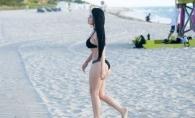Megan Fox de Brazilia, aparitie incendiara la plaja. Cum arata tanara descoperita la un show numit