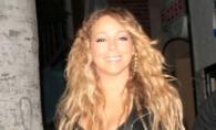 Mariah Carey, mai mult dezbracata decat imbracata pe strada, alaturi de cei doi copii - FOTO