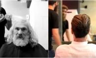 Schimbare incredibila! Vezi cum a fost transformat un om al strazii - VIDEO