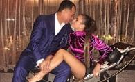 Se saruta, se joaca si se bat, la propriu. Xenia Deli si sotul sau in ipostaze nemaivazute pana acum - VIDEO