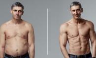 De la corporatist la culturist in 12 saptamani. Cum arata corpul acestui barbat dupa ce a inceput sa traga de fiare - FOTO