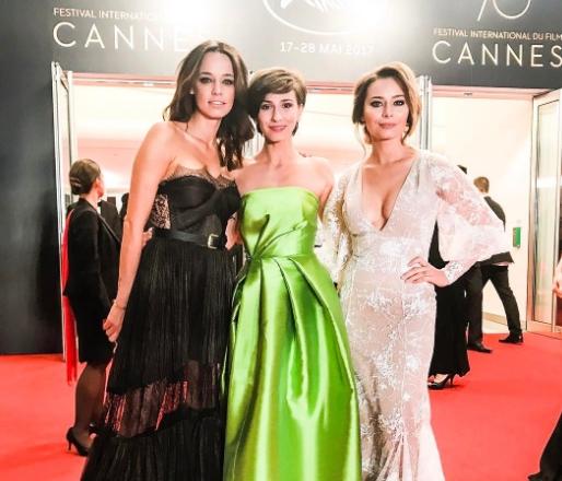 Cum s-au imbracat Andreea Raicu, Dana Rogoz si Laura Cosoi la Cannes. Vedetele au stralucit - FOTO