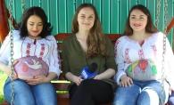 A devenit un trend printre gravidute! Petru Cliofos, adevarate opere de arta pe burticile mamicilor - VIDEO