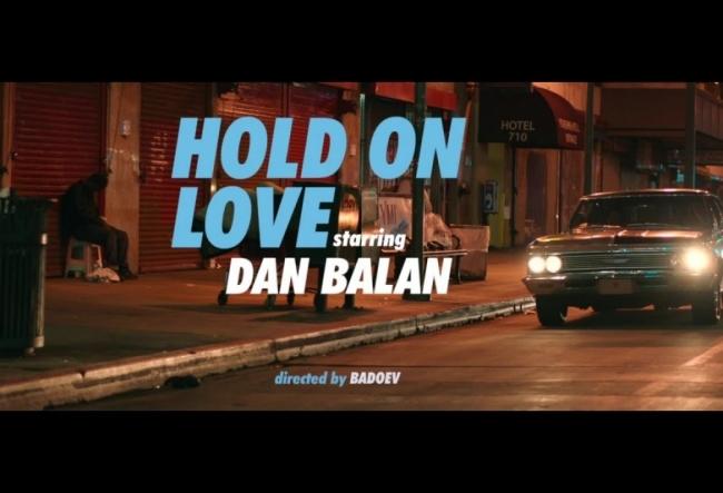 """Dan Balan a lansat videoclipul la piesa """"Hold on love"""""""