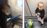 O mama cu doi copii a fost abandonata de o linie aeriana in Spania. Vezi motivul revoltator