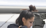 Primele poze cu Ariana Grande dupa atacul de la Manchester. Cum a fost surprinsa cantareata la scurt timp de la dezastru - FOTO
