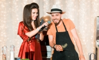Chef FOA a facut show si si-a demonstrat talentul de bucatar, la petrecerea Gustland. A fost o seara plina de muzica, delicii culinare si magie - FOTO