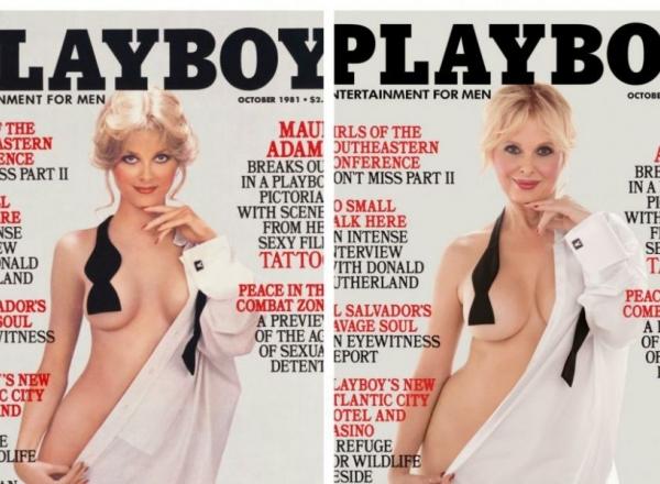 Playboy le-a cerut unor modele din anii '80 sa recreeze copertele din acea perioada, iar ele au demonstrat ca frumusetea nu are varsta - FOTO