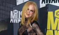La 49 de ani, mai sexy ca oricand! Nicole Kidman a imbracat o rochie extrem de indrazneata - FOTO