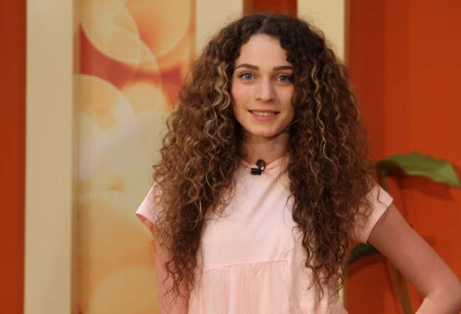 Gabriela Slivca a inceput sa defileze la concursurile universitare ajungand sa prezinte pentru designeri celebri din afara tarii - VIDEO
