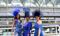 Cursele de cai din Marea Britanie vin la pachet cu o adevarata expozitie de palarii. Cat de extravagant s-au imbracat femeile in acest an - FOTO