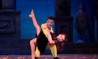 Din fetita cu fundita, intr-o domnisoara superba! Iata cum arata dansatoarea Ionela Tarus, la 5 ani de la debutul la concursul