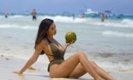 Un model a lasat cu gura cascata turistii de pe plaja! Iata cum arata tanara cu cel mai apetisant posterior - FOTO