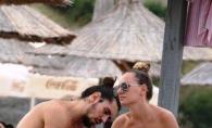 Alexandra Stan, fara sutien la plaja. Iata cum a fost surprinsa de paparazzi, cand nu se astepta - FOTO