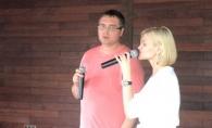 Renato Usatii s-a apucat de cantat! Controversatul politician canta in duet cu Irina Krug - VIDEO