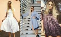 Designerul Valeria Cantir ne prezinta 4 tinute superbe pentru ocazii diferite! Tesaturile transparente si culorile pastelate te vor cuceri - VIDEO