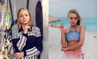 Unii aleg sa plece din tara, iar modelul Alexandra Livitchi s-a intors! Cunoaste-o pe frumoasa blonda cu ochi albastri,  care vrea sa demonstreze ca si la noi iti poti croi o cariera de succes  - FOTO