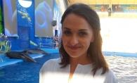 Sorina Obreja, dezgolita frumos pe malul marii: