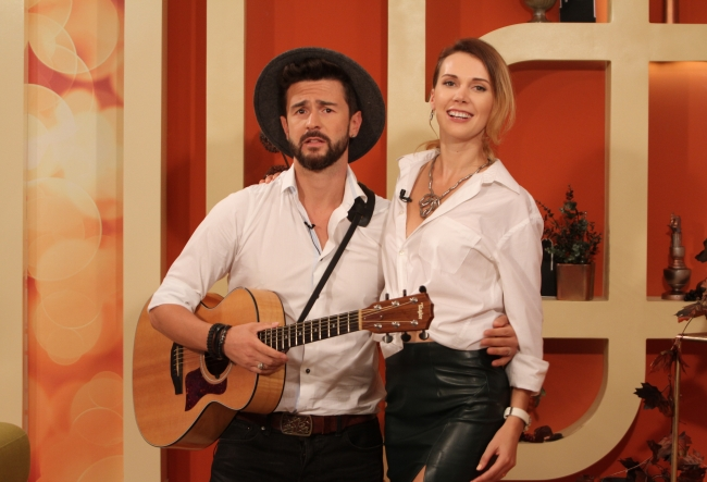 "Pasha Parfeny, despre proaspata sa sotie: ""Vreau sa traiesc mai multe vieti impreuna cu Yuliana."" Rodica Cioranica i-a provocat sa se cunoasca mai bine - VIDEO"