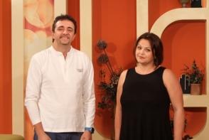 Violeta Neamtu si Emilio Profili au adus inghetata artizanala, tocmai din Italia. Iata cu ce concept nou au venit - VIDEO