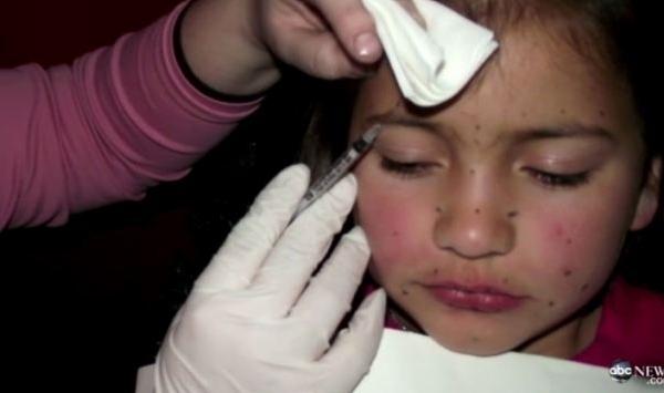 I-a injectat botox la numai 8 ani pentru un concurs de frumusete. Cum arata micuta - FOTO