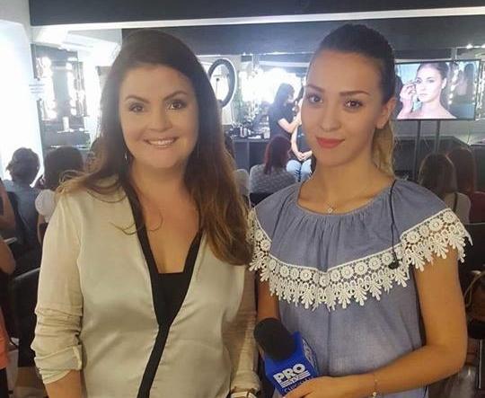 Reporterul Alina Plingau a mers la masterclassul unui celebru make-up artist. Afla care sunt ultimele tentindinte in materie de machiaj - VIDEO