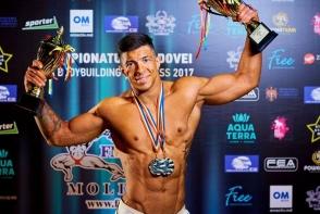 Orice femeie ar vrea sa-i atinga muschii sexy! Cunoaste-l pe moldoveanul Oleg Novogolub, tanarul cu un corp de milioane - FOTO