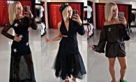 Esti curios sa vezi cum isi aleg si cat cheltuie pe haine vedetele de la noi? Vezi cum a fost la shopping cu Sasha Letty - VIDEO