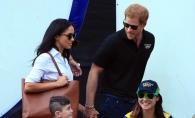 Printul Harry, prima aparitie publica alaturi de iubita lui! Iata cum au fost surprinsi indragostitii - FOTO