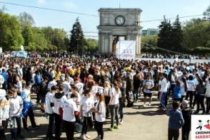 Maratonul International Chisinau 2017 a adunat peste 17 mii de oameni. Vezi cine sunt castigatorii, dar si cum s-a desfasurat acest eveniment - VIDEO