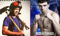 Este un luptator dur, iar in afara ringului, salveaza vieti. Nicolai Caraus este kickboxer si, totodata pompier - FOTO