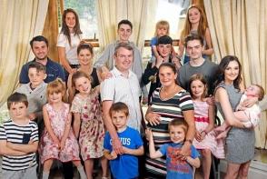 Ei formeaza cea mai numeroasa familie din Marea Britanie: