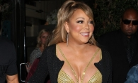Mariah Carey a scapat de cateva kilograme, dar nu si de vulgaritate. Iata cum s-a afisat la bratul iubitului - FOTO