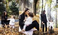 Elena Bivol, alaturi de fiica sa, Eliza, intr-o sedinta foto adorabila. Vezi cat de dragalasa este micuta - FOTO