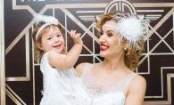 Tatiana Heghea, despre fetita ei: