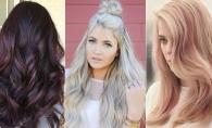 Culorile de par, potrivite pentru toamna 2017. Afla cum poti fi in trend