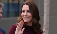 Kate Middleton, superba la cea mai recenta aparitie. Sarcina o prinde bine pe Ducesa - FOTO