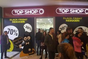 Reduceri pana la -70% la Top Shop, doar de Black Friday! Profita de cele mai bune preturi ale anului 2017, doar pe data de 24 Noiembrie.