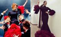 Aura si Diana Brescan au fost surprinse intr-un model identic de rochie! Cine o poarta mai bine? - FOTO