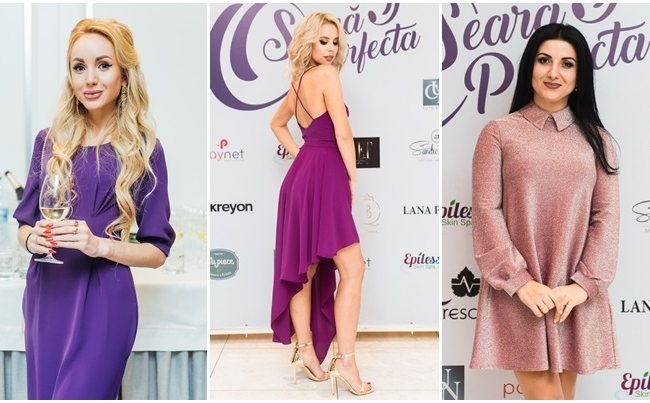 Perfect purple party! Vezi cat de mult s-a respectat dress code-ul evenimentului, dar si ce tinute stilate au ales sa poarte invitatii - VIDEO
