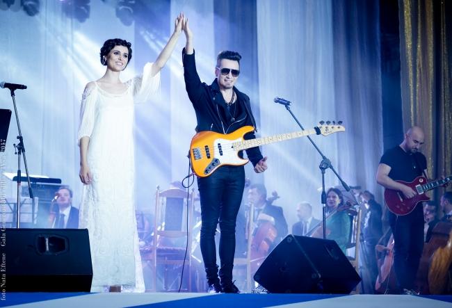Concertul anului! Alex Calancea Band si Valentina Nafornita au realizat un mix de exceptie - VIDEO