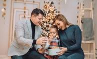"Kornelia Stefanet: ""Bine ai venit, draga iarna!"". Vezi cat de frumos a intampinat-o intreaga familie Stefanet - FOTO"