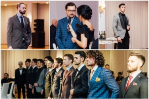 """Sandro Livv"" aduce rafinamentul italian in sifonierul barbatilor din Moldova! Designerul Alexandru Cornitel a prezentat o gama larga de costume exclusive - VIDEO"