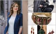 """Iuliana Mamaliga: """"Nu mai este in trend sa asortezi incaltamintea cu accesoriile!"""". Defineste-ti stilul cu cele mai sofisticate si calduroase accesorii ale momentului - FOTO"""